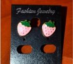 Cute Classy Strawberry Earrings